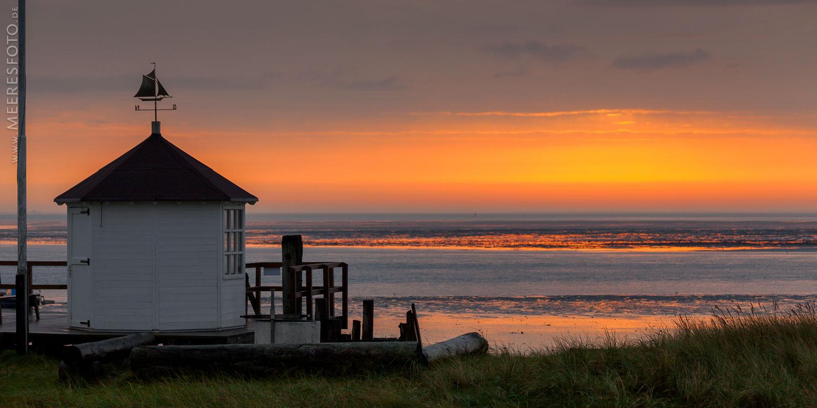 Morgensonne auf Amrum