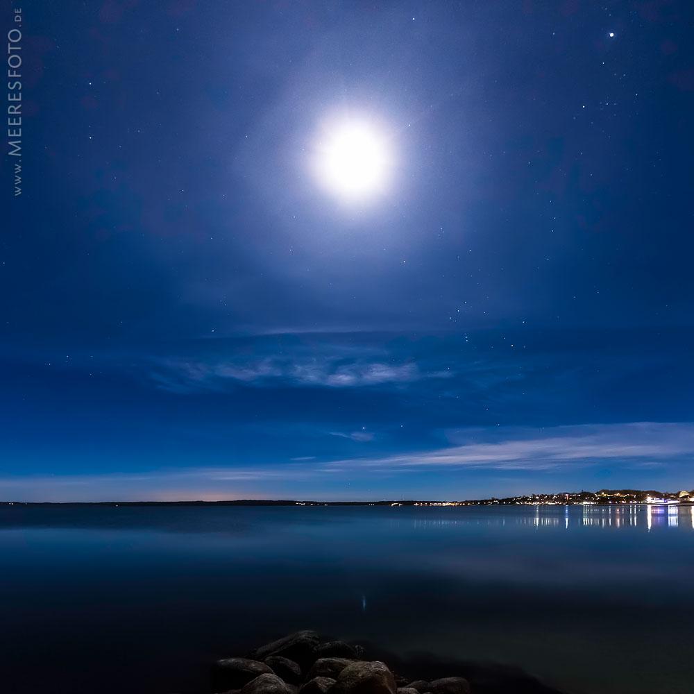 Mondnacht in Eckernförde