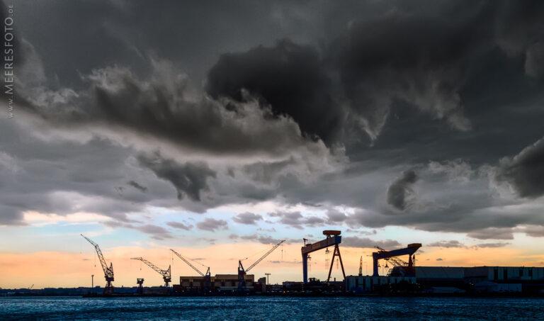 Gewitterwolken über HDW