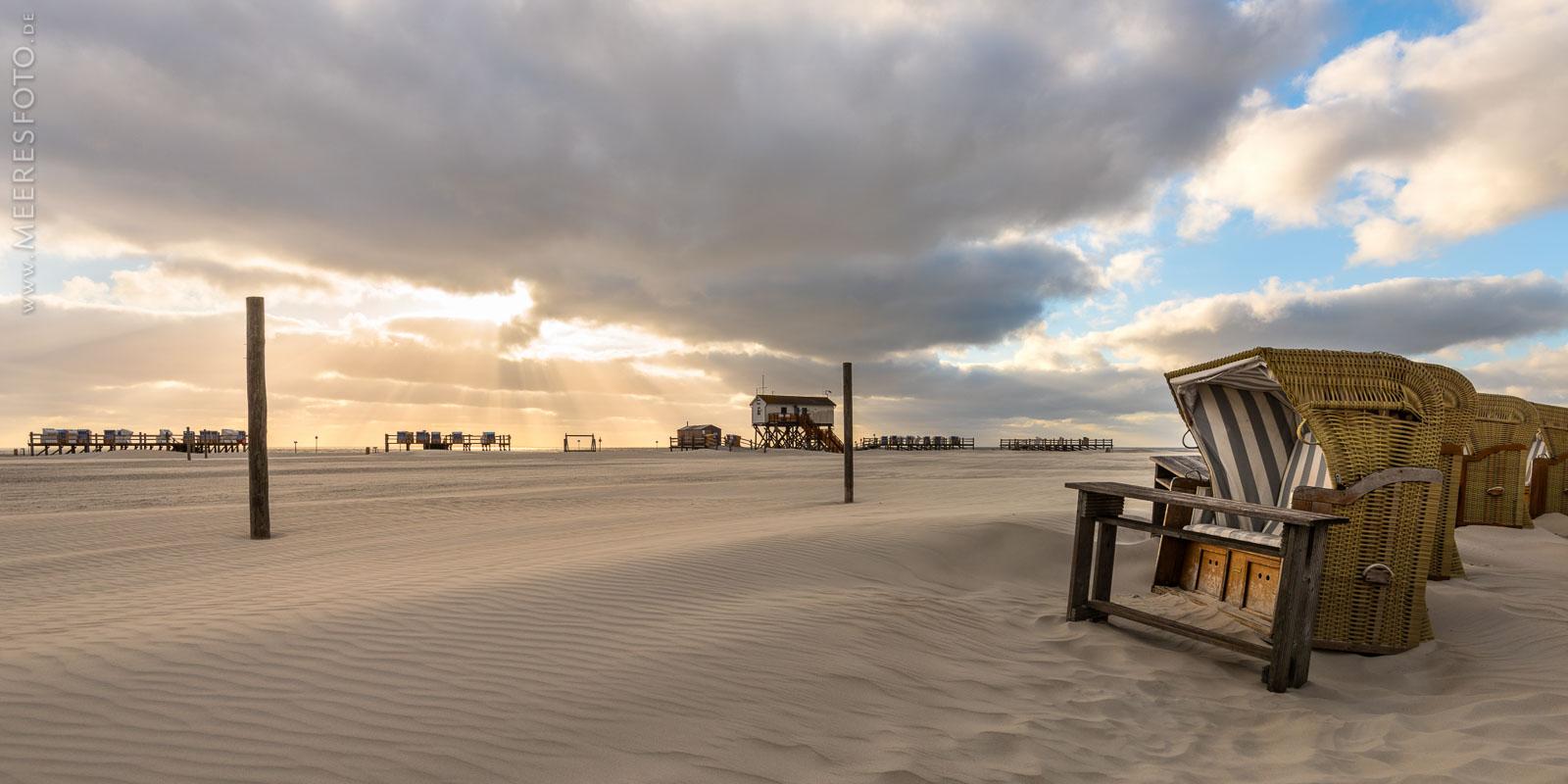 Strandkörbe der Arche Noah