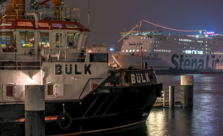 Novemberhafen in Kiel